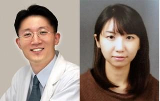 권오상 교수(교신저자·왼족)와  윤지선 연구교수(제1저자) - 서울대 의대 제공